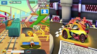 Disney Pixar Cars Lightning McQueen VS Subway Surfers LONDON England Gameplay #32