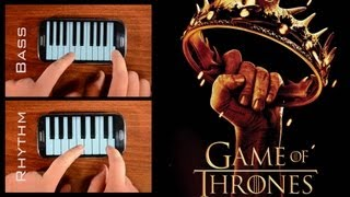 Repeat youtube video Game of Thrones - Theme (Piano on Phone cover)