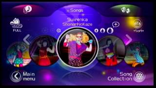 Just Dance 2 Japan Song List -  ジャストダンスWii 2