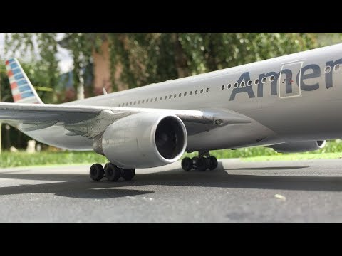 Revell Airbus A330 assembly