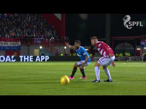 Watch Ryan Jack red card incident for Rangers