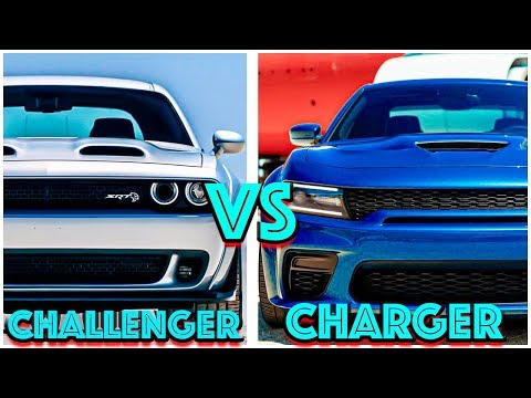 CHARGER vs CHALLENGER.... Is the CHARGER a real MUSCLE CAR???