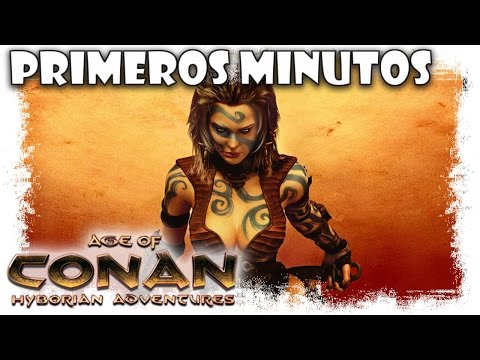 Age Of Conan Gameplay Español | Primeros Minutos | MMOrpg free to play action doblado