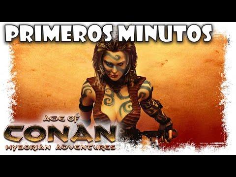 Age Of Conan Gameplay Español | Primeros Minutos | MMOrpg free to play action doblado