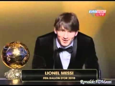 Lionel Messi - FIFA Ballon D'Or 2010