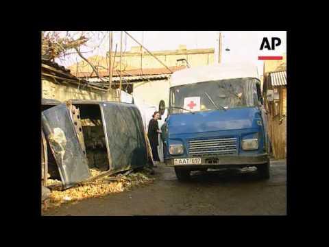 Georgia - Pensioners struggle to survive