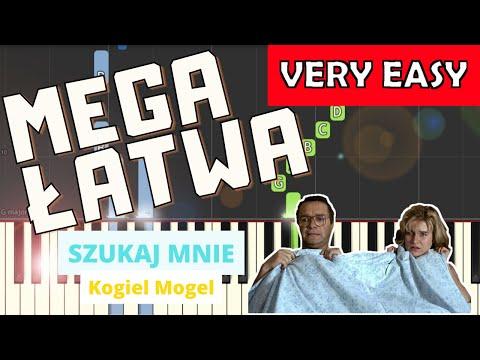 🎹 Szukaj mnie (Kogel Mogel, Edyta Geppert) - Piano Tutorial (MEGA ŁATWA wersja) 🎹