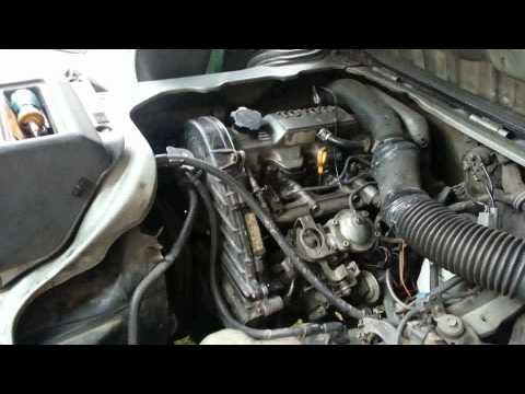 Lite Ace 92г.в. двигатель 2CT Разбор ГРМ часть 1