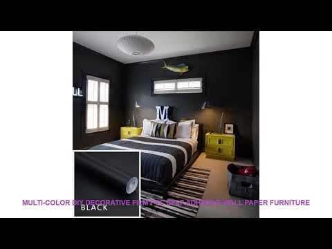 Multi-color DIY Decorative Film PVC Self adhesive Wall paper Furniture