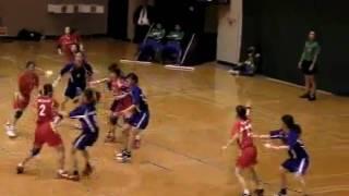 ハンドボール  ソニーセミコンダクタ九州 vs 大阪教育大学 2009総合