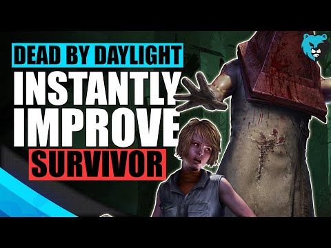 13 Tips to INSTANTLY Improve at Dead by Daylight Survivor DBD Beginner's Guide