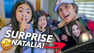 Surprising NATALIA With A Video Call With SOMI!! (KPOP IDOL) | Ranz and Niana