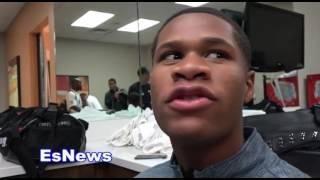 Devin Haney Breaks Down Adrien Broner vs Mikey Garcia - EsNews Boxing