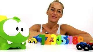 Video mit Spielzeugautos: lern mit Om-Nom!
