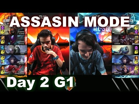 Turkey vs Oceania Assasin Mode | 2016 LoL IWC All-Stars Day 2 | FIRE vs ICE