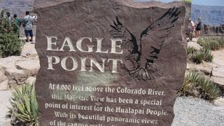usa las vegas grand canyon west rim eagle point skywalk hualapai hwal bay nyu wa