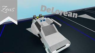 DeLorean | [Showcase] | ROBLOX Plane Crazy [Alpha]