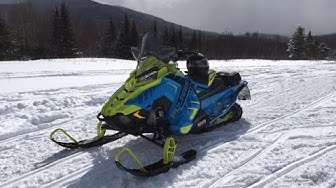 2020 polaris indy xc 129 ride from island pond VT to Pittsburg NH