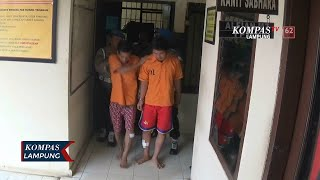 2 Pelaku Pencurian Rumah Diringkus Polisi