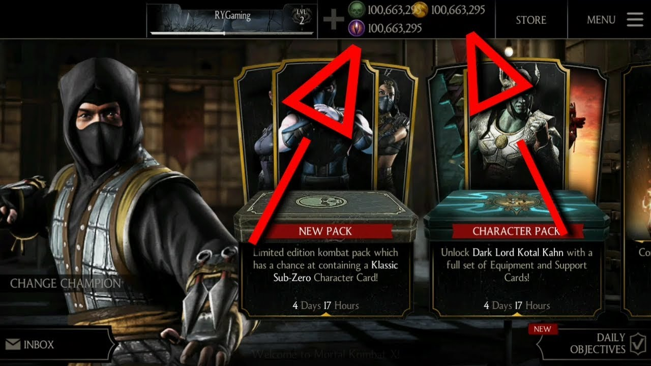 Mortal kombat X Latest mod v1 19 0 || Unlimited Koins || Unlimited Souls ||  Character's Unlocked