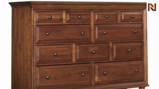 Kincaid 68-160 American Journal Drawer Dresser- Stain