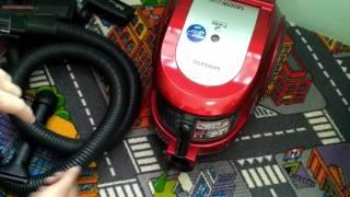 полная разборка и сборка пылесоса SAMSUNG SC6570. Замена двигателя. Ремонт в домашних условиях