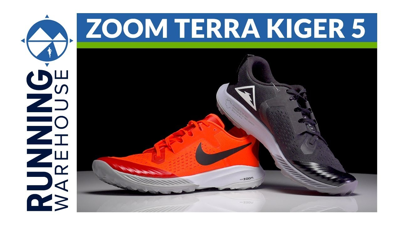 04b1460aa3c Nike Zoom Terra Kiger 5 First Look Review - YouTube