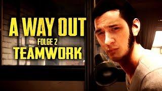 A WAY OUT - Teamwork - A Way Out Gameplay Deutsch