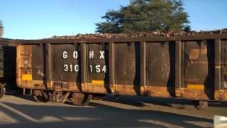 Ferromex 4050 y 4527 chatarrero pasando por Las Juntas Tlaq Jal...