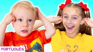 Cabeça Ombro Joelho e Pé – Canções Infantis por Sunny Kids Songs