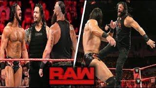 WWE Raw 22 October 2018 Highlights - Roman Reigns vs Drew Mcintyre vs Braun Strowman