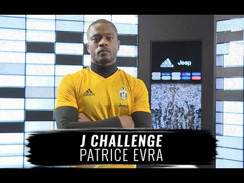 #JChallenge: Patrice Evra, team-mate impressions!