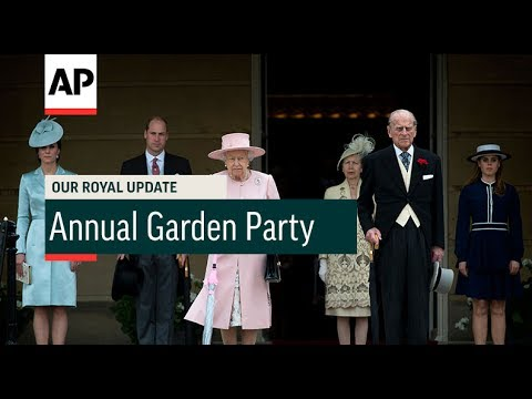 Annual Garden Party - 2017 | Our Royal Update # 30