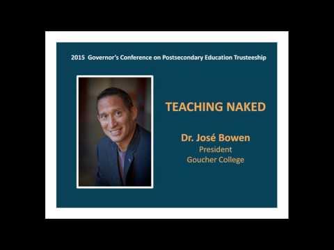 Teaching Naked by Jose Bowen