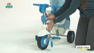 Tricicletă Splash 5 în 1 Blue&White smarTrike