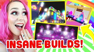Most INSANE ADOPT ME BUILDS You Wont Believe Exist !