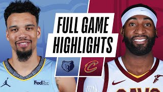 GRIZZLIES at CAVALIERS | FULL GAME HIGHLIGHTS | January 11, 2021