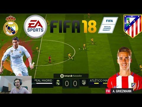 FIFA 18 - Real Madrid vs Ateltico Madrid Derby-ul Orasului