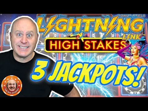 ⚡3 HIGH LIMIT JACKPOT$! ⚡Lightning Link High Stakes at $75 a Spin! ? - 동영상