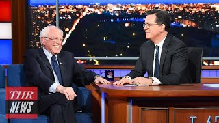 Bernie Sanders Reacts to Larry David's Request to Drop Out of Race to Avoid SNL Sketches | THR News