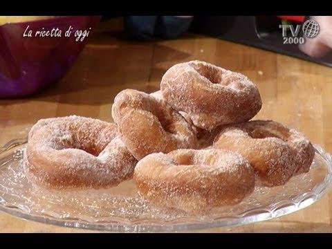 Biscotti Di Natale Quel Che Passa Il Convento.Quel Che Passa Il Convento Alaci Frittelle Dolci Youtube