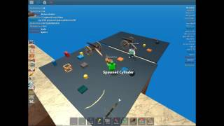 Roblox PIR :TUTORIAL how to spawn things in spawnland