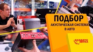 Акустическая система в авто. Подбор системы на 400$/ 10000 грн/ 25000 руб. Обзор от Avtozvuk.ua