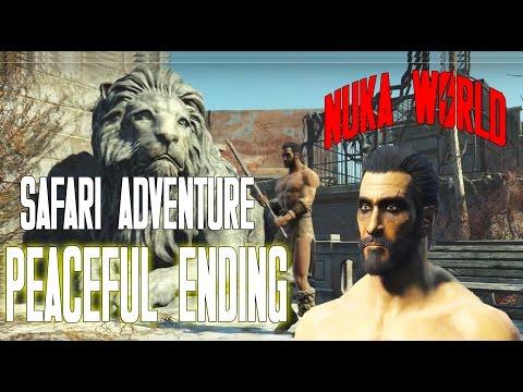 Fallout 4 Nuka World DLC | Safari Adventure | Quest