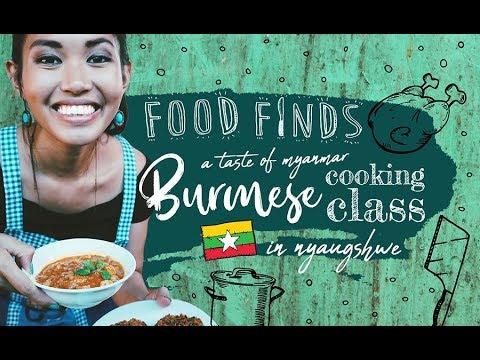 Food Finds: Burmese Cooking Class in Myanmar