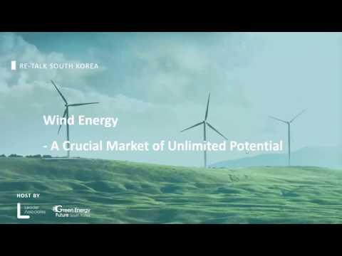 RE-Talk South Korea: Wind Energy Webinar
