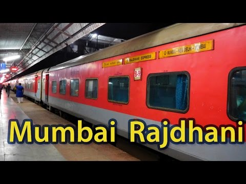 Journey on board Mumbai Rajdhani Exp: New Delhi to Kota (India's fastest Rajdhani)