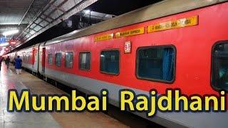 Journey on board Mumbai Rajdhani Exp: New Delhi to Kota (India's fastest Rajdhani)