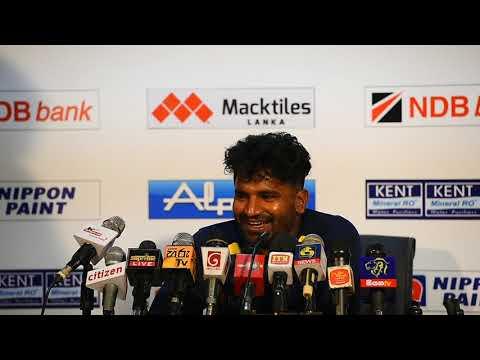 Kusal Perera addressing media | Post match press conference