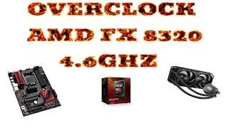overclock FX 8320 - Asus 970 Pro Gaming Aura - ITA